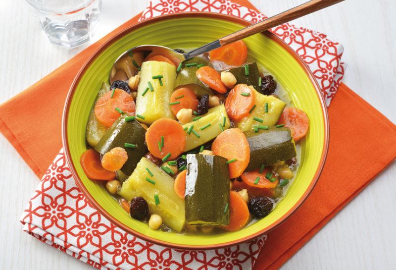 Mijoté de légumes au cumin