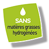 Picto Sans matières grasses hydrogénées