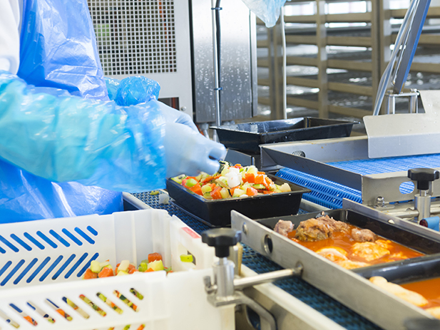 Les Cuisinés d'Armor - Fabrication des plats